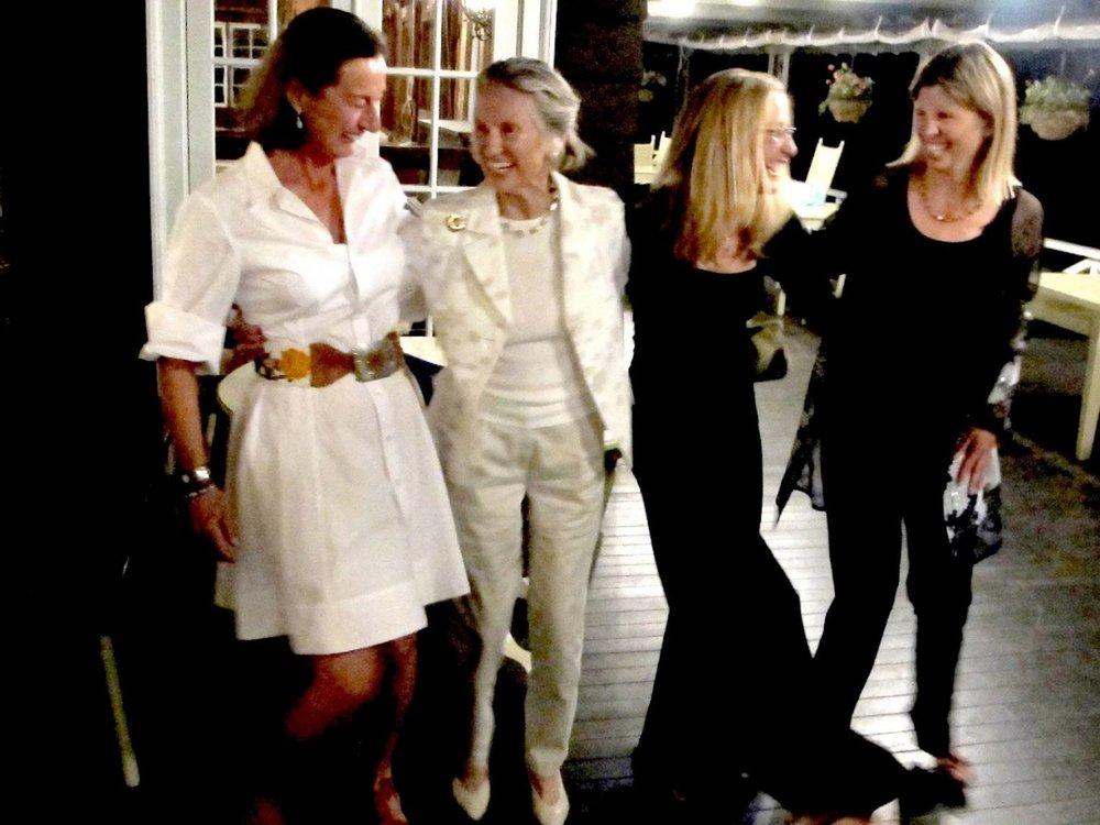 Laura Wilson, Rosalee McCullough, Sue Simpson, Dorie Lawson