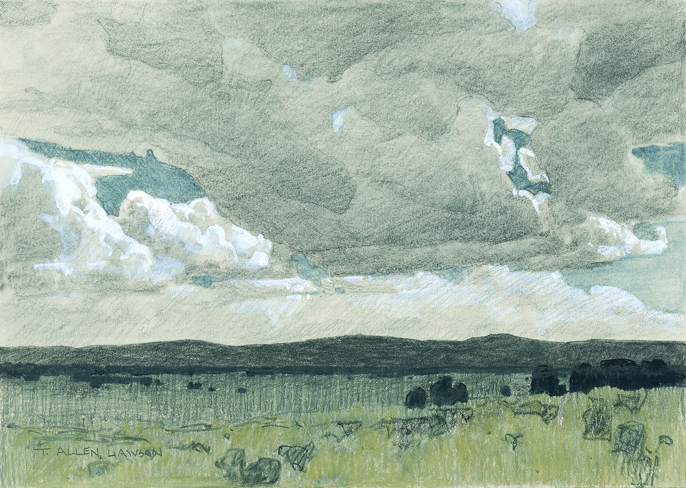 Study for Skies over Kaibab
