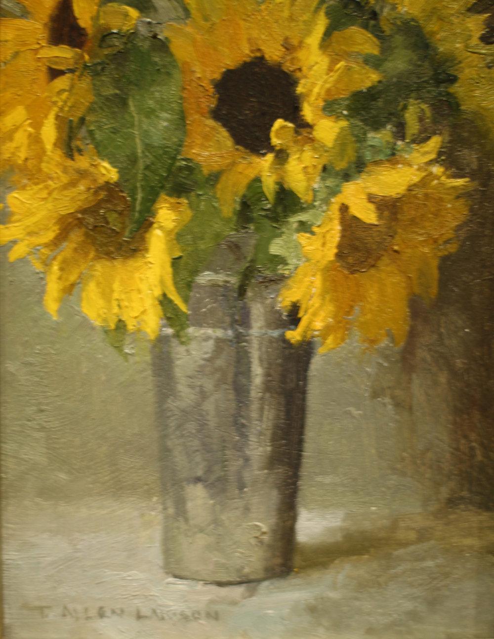 Sunflowers for Luke