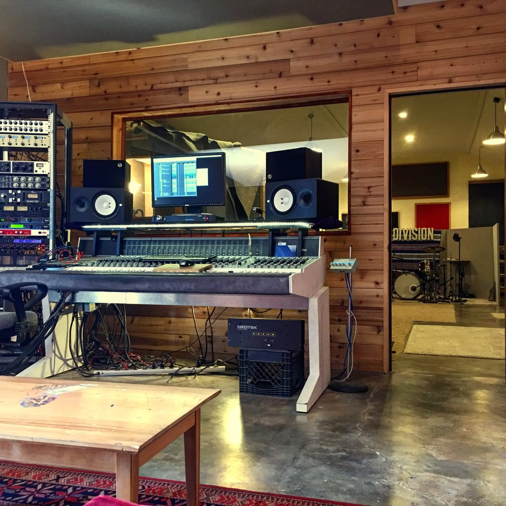 Rooms - Most of the sonic real estate at MRC is dedicated to the musicians in the live room. Excellent for creativity and communication.