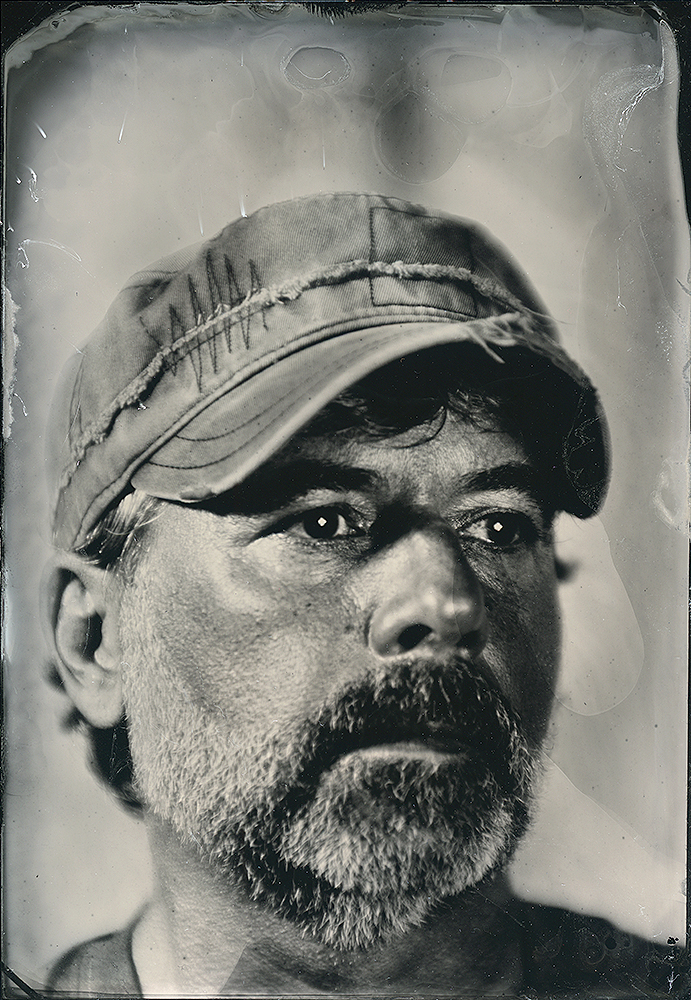 TINTYPE - Traditional wet plate collodion tintypes created in our studio, or from digital images you supply.