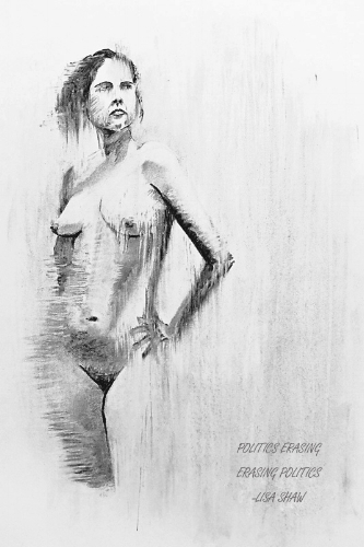charcoal drawing lisa shaw
