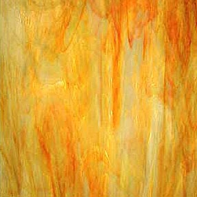6076-83   - Inferno - Orange/Yellow/Wispy WhiteCalled