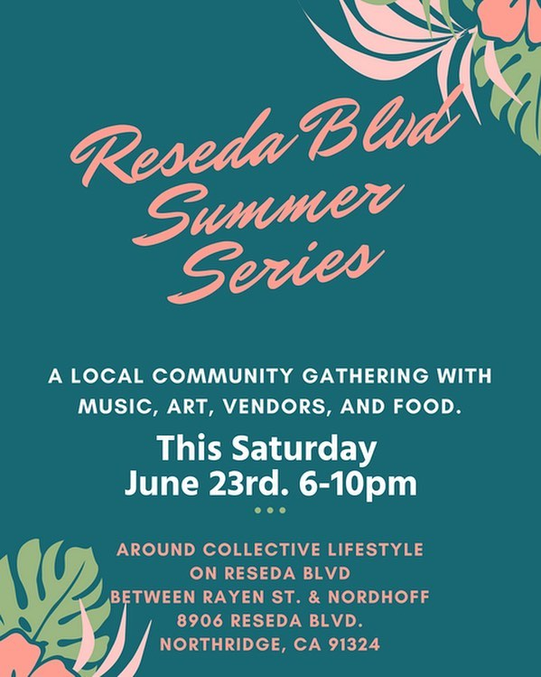 Only two more days until our first summer series event of the year! Come join us for live performances, art, music, and food trucks. Tag a friend who should come out and celebrate with our community! ✌🏽#resedavd #summerseries #northridge #csun #thevalley