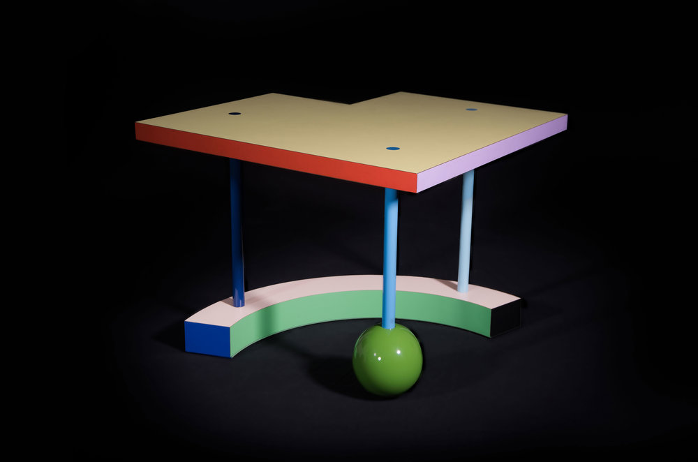 Hollywood table , 1983