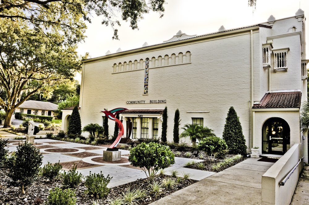 Mount Dora Community Building Garden Entrance.JPG