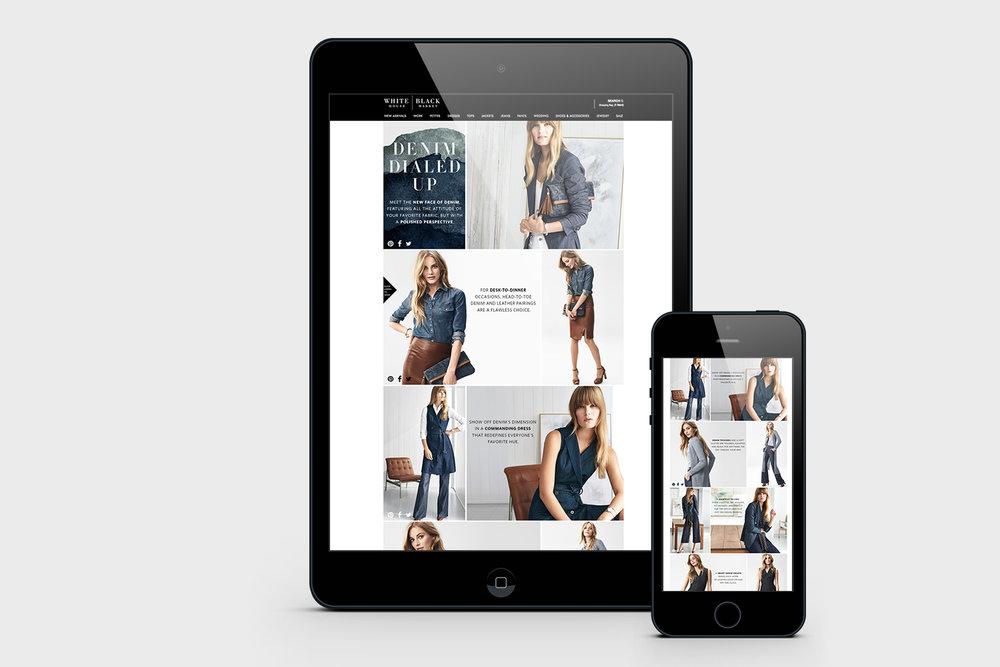 Shopable Digital Lookbook