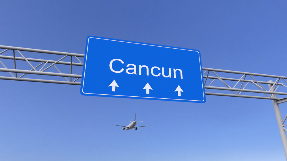 Mexico - My plan is to fly into Cancun, Mexico and then get the hell out of Cancun. I believe Cancun is far too touristy for me. The prices are too high for this my budget on this trip. I will quickly move onward to more budget friendly locations in Central America.