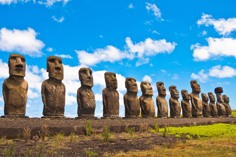 Easter Island - I absolutely cannot miss Easter Island. It requires a 4.5 hour flight out to the island. I plan to spend several days on the island exploring and learning as much as I can because I am absolutely fascinated by these statues. I also have photography ideas for some of these site I want to try! I imagine this will be one of the highlights of this entire trip. Since the flights depart from Santiago, Chile, I will be visiting here before I go south into Patagonia.