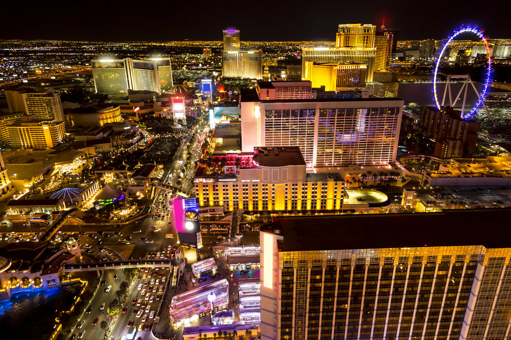 2.Did you know the Las Vegas strip isn't really in Las Vegas? - The strip falls outside of the city limits of Las Vegas!The strip is in the jurisdiction of Clark County because it is located in unincorporated Paradise and Winchester.