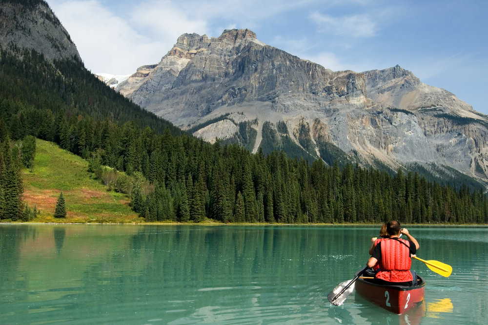 17.Most lakes in the world? - Canada has over 3 million lakes which is 60% of all the lakes in the world.That means Canada has more lakes than the rest of the world combined!If you are looking to go fishing Canada may be the place to go!