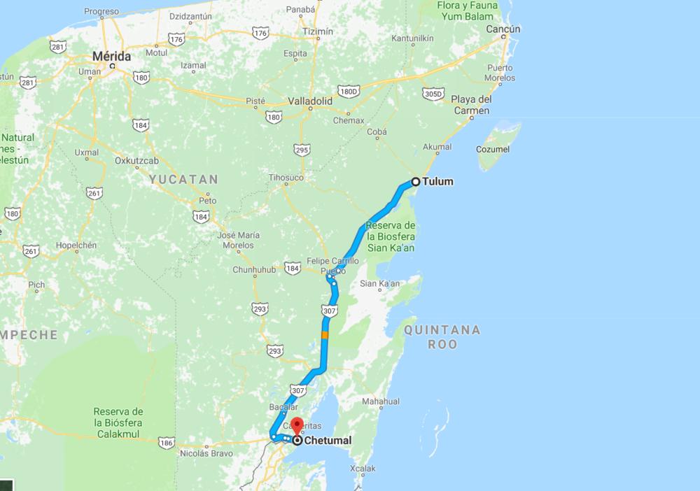 Chetumal, Mexico -