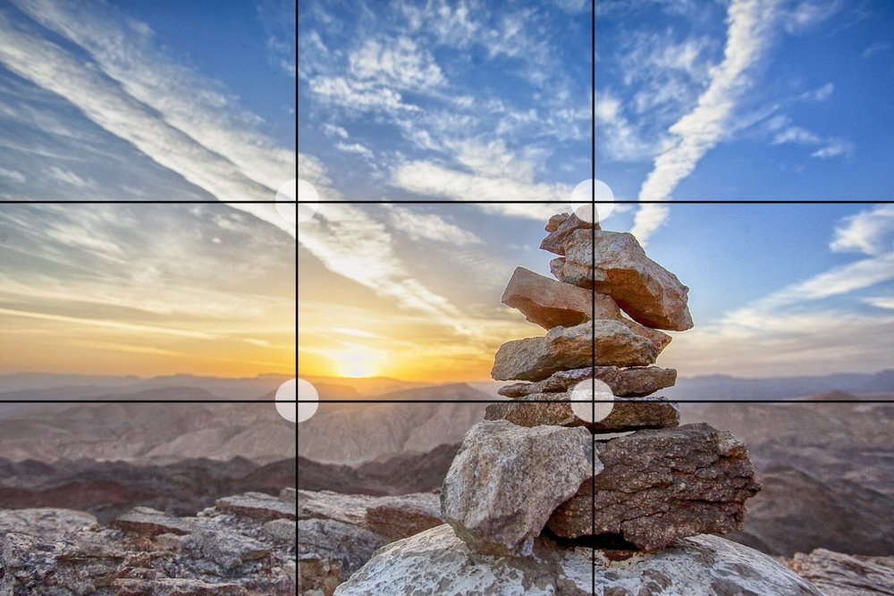 Using the Rule of Thirds brings and extra dimension of style to your photos.