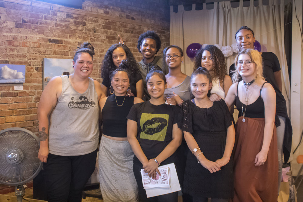 OUR VOLUNTEERS - are a core part of the Powerful Voices family. We have so much gratitude to folks who spend their time, skills, and labor with us. Often times, a few extra hands is just what we need in order to create programming that lift up PV girls*.