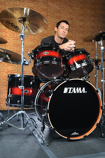 Dean Butterworth plays Tama Drums