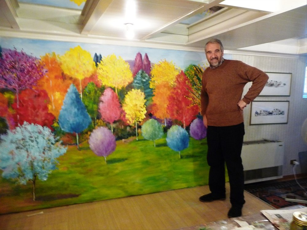 Massimo Zecchi Visits the Florence Studio
