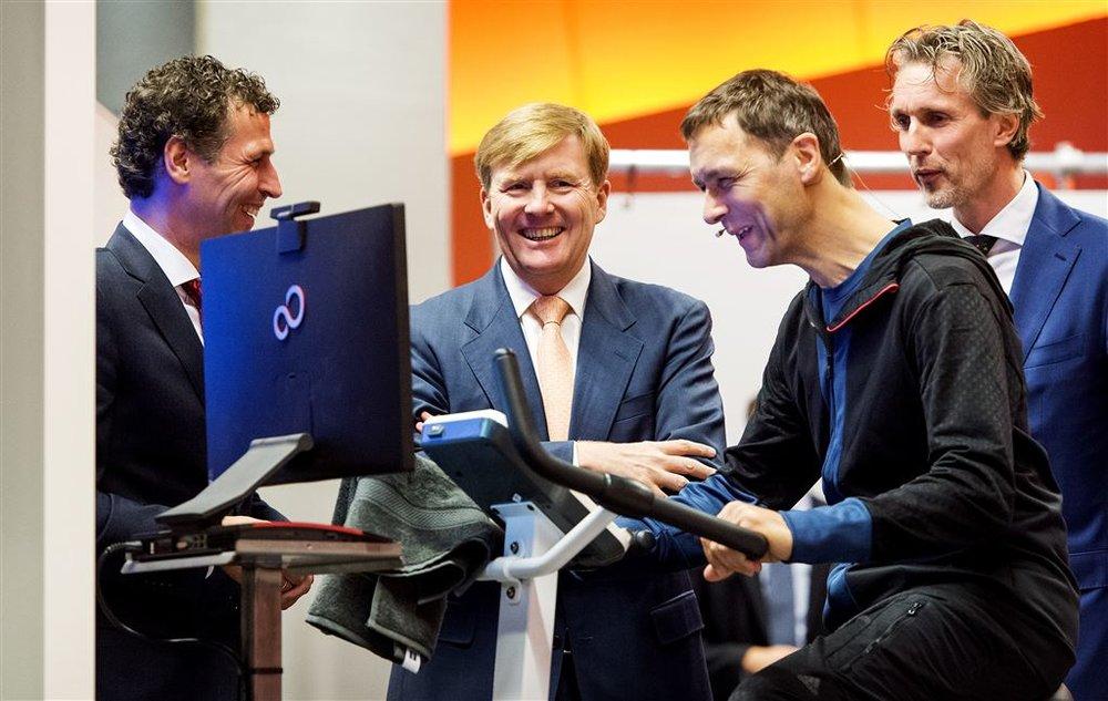Opnames koning Willem Alexander, Jaarbeurs Utrecht