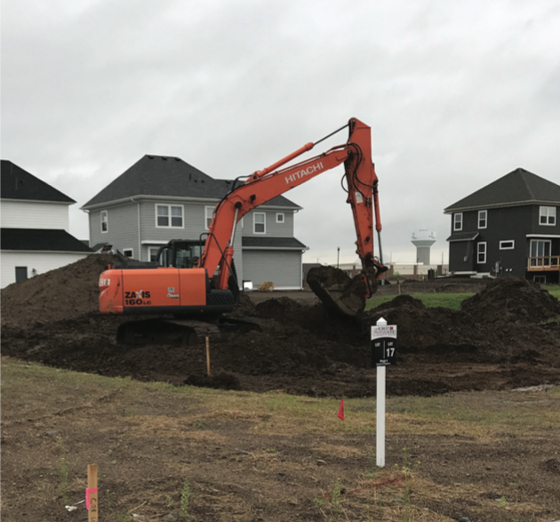 "Robert Thomas Homes breaks ground on their 2017 ""Hope House"" in Lakeville."