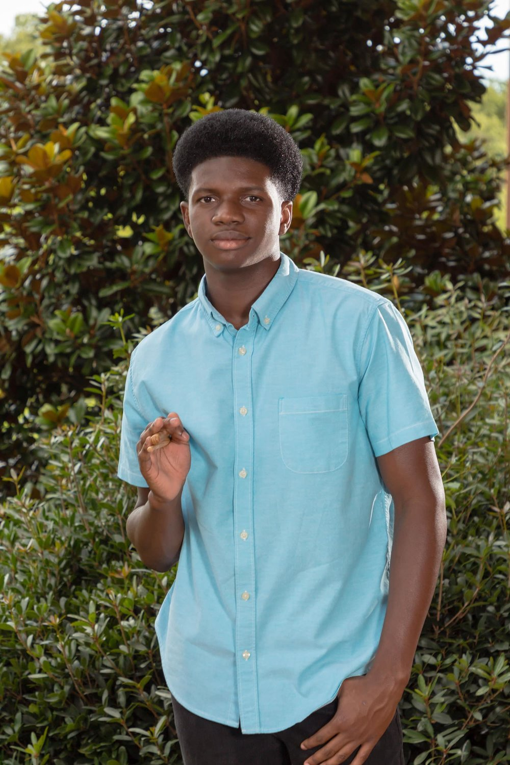 Kimari, a senior at Forrest County Agricultural High School