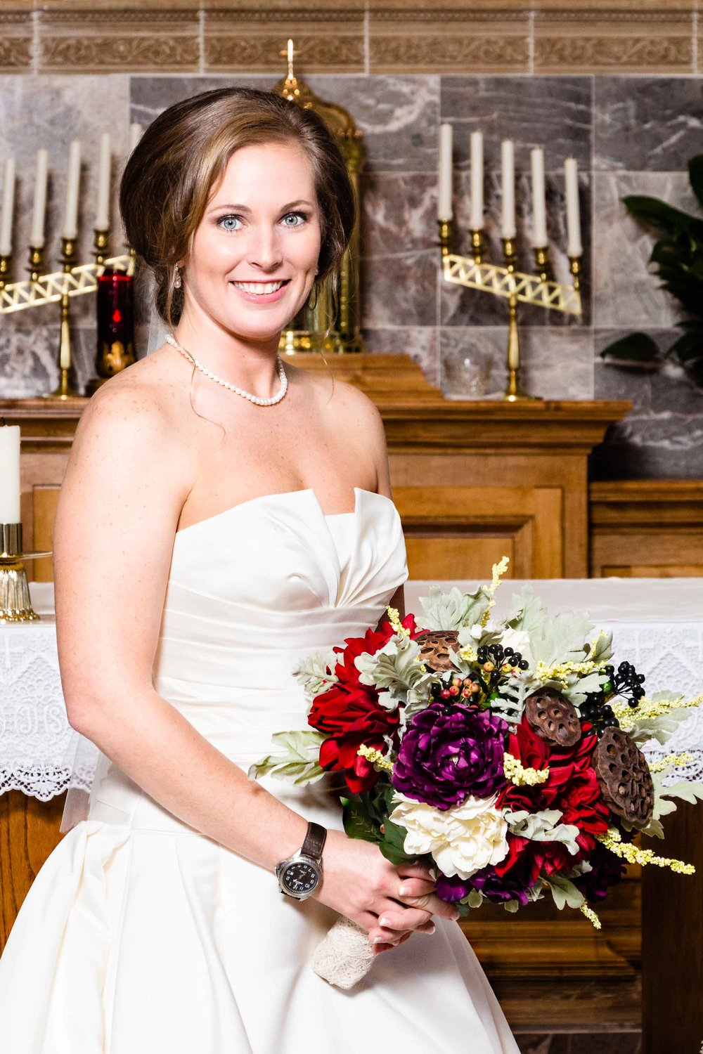 Lindsey made a beautiful bride!