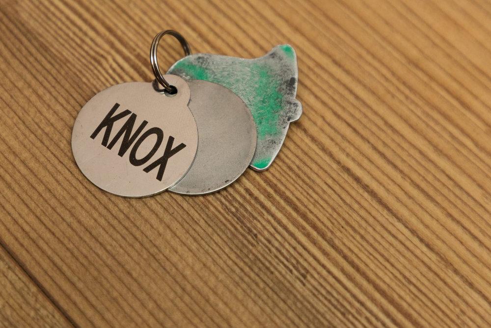 Knox's tags
