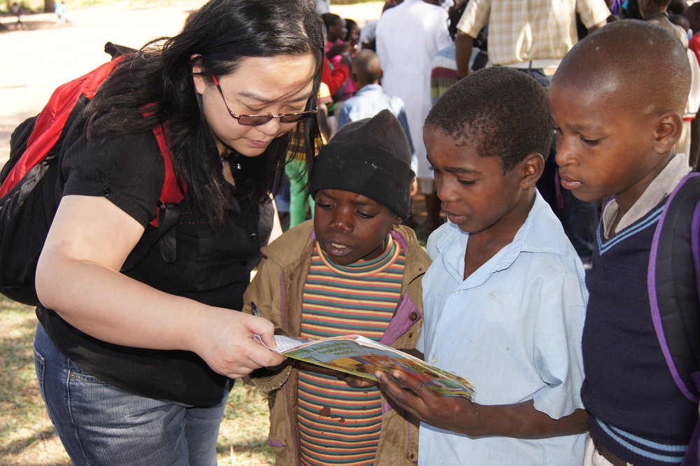 OMPT worked with Save the Children's Literacy Boost project in Mozambique