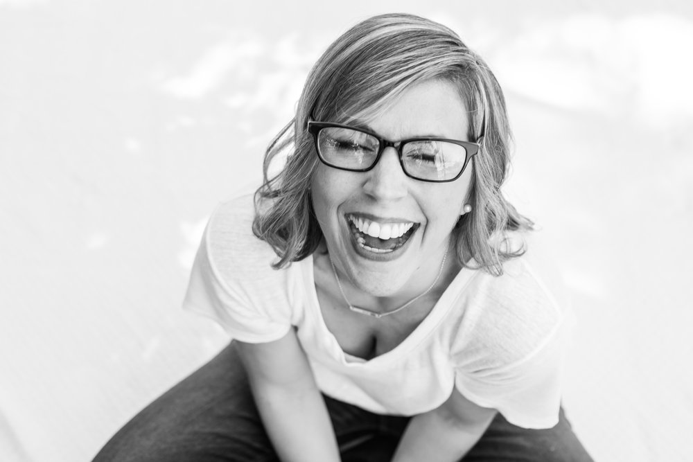 me laughing. caught by Better Together Photography