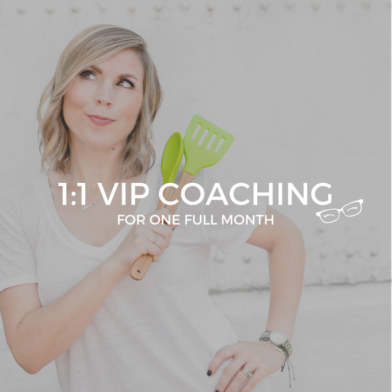 1:1 VIP Coaching with Amber