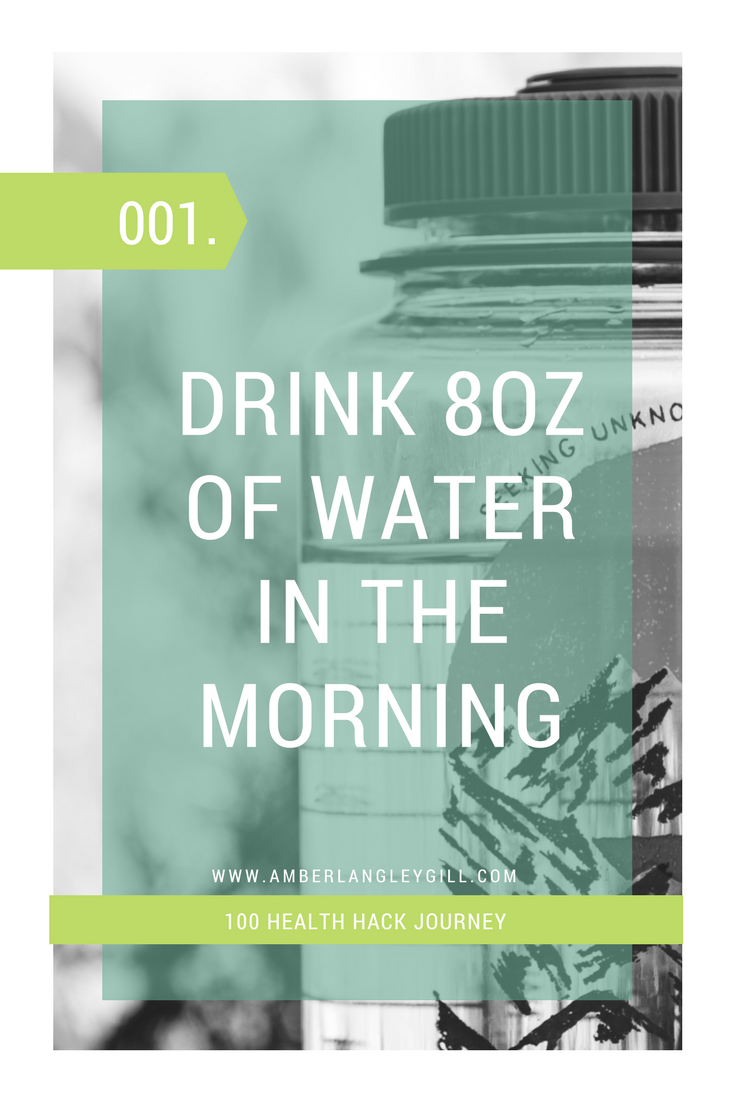 Health Hack Journey (001): Benefits of Water in the Morning