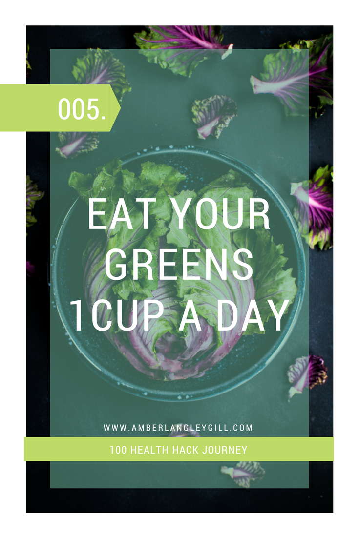 005 Health hack: Eat your greens