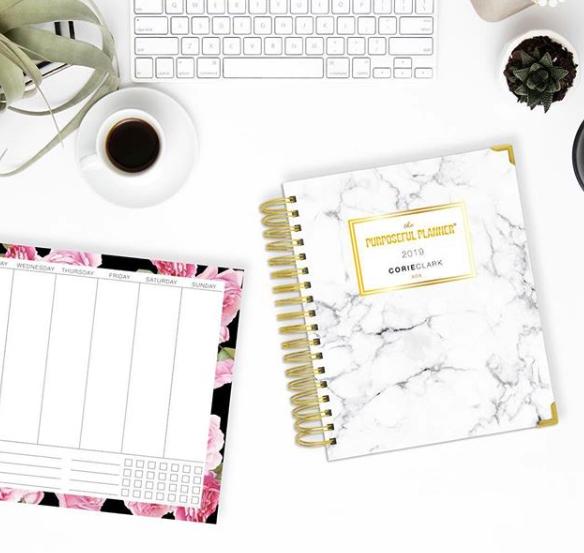 Corie Clark's Purpose Planner