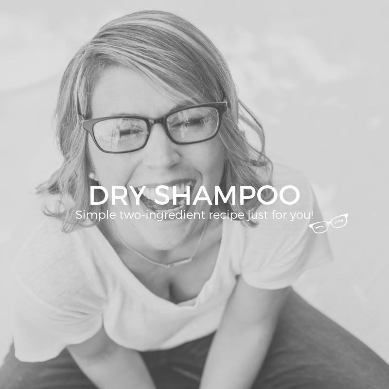 DRY SHAMPOO RECIPE