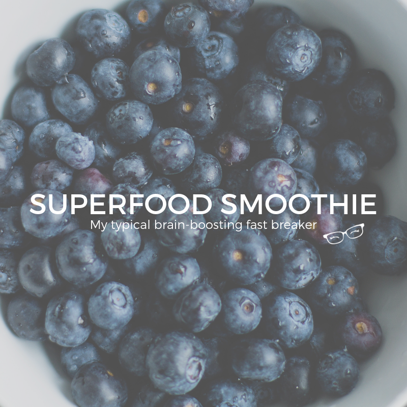 SUPERFOODIE SMOOTHIE