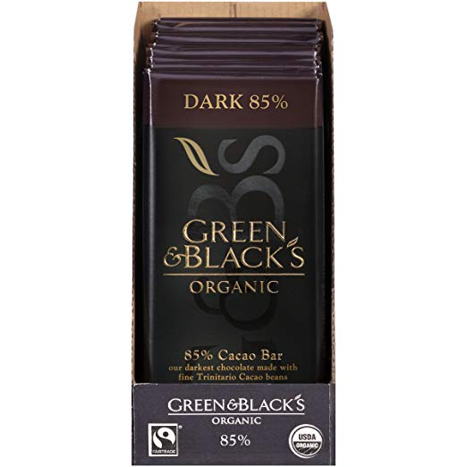 I Loved this one the hubster would snag from me… because it was a smooth dark chocolate plus it was found in our local grocery store! Hello!