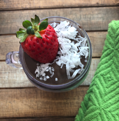 chocolate superfood smoothie