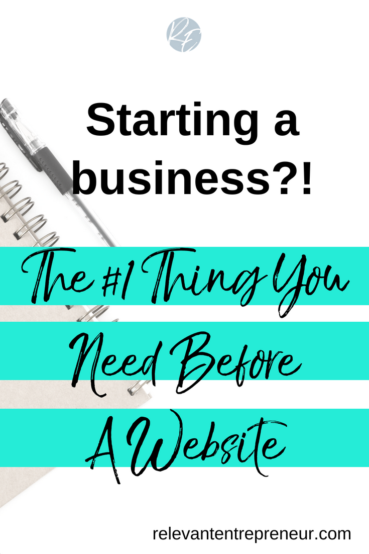 The #1 Thing You Need Before A Website
