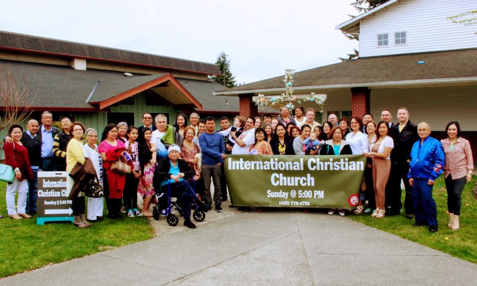 International Christian Church group photo