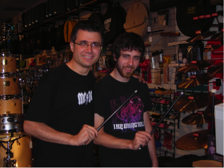 Joe Iannuzzi & Mike Taylor, Drummer's Choice 2006 (c/o Joe Iannuzzi)