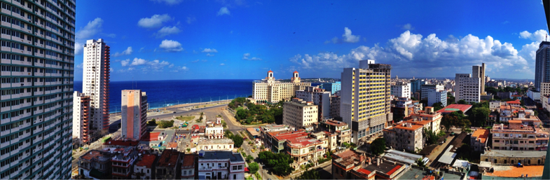 View of Havana from FOCSA Building, 2012 (photo taken by author)