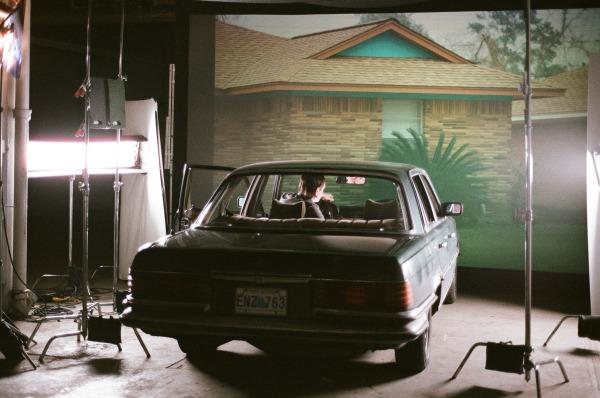 Cover art photo shoot, The Suburbs, 2010