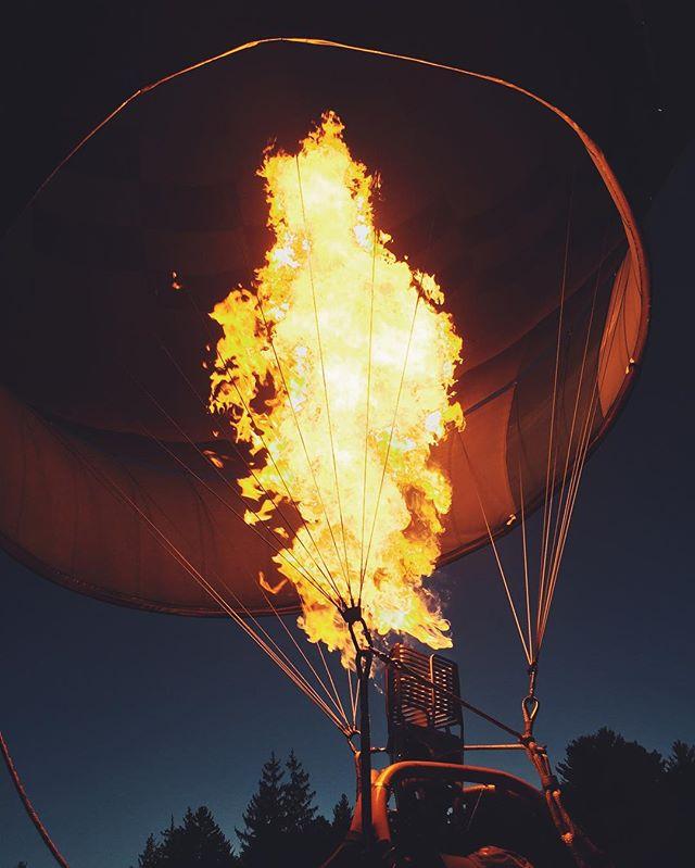 The best way to kick-off Fall: @adirondackballoonfest 🎈🍁