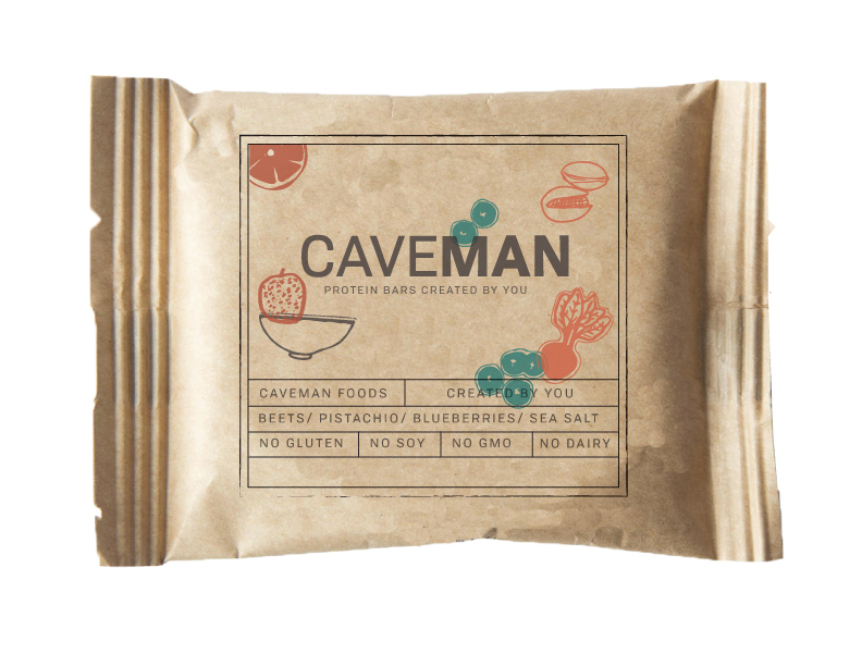 The Caveman Kit - Fuel your adventure without adding to the landfill. All caveman bars feature a BPI compostable package. Just toss the packaging in with other compostables. The Caveman Kit will contain bars selected by the customer that suits their dietary needs, along with a newsletter that features health columns, and adventure articles from Caveman's brand ambassadors.