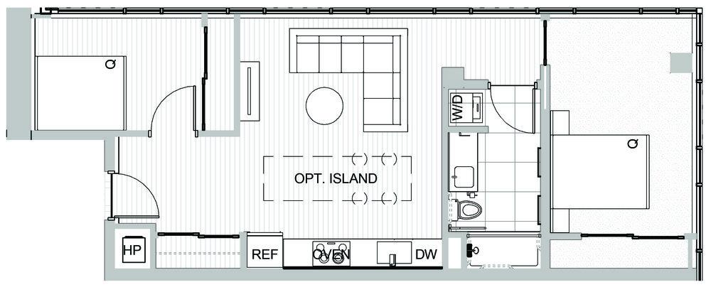 Seattle condos 2 bedroom - Koda Condominiums