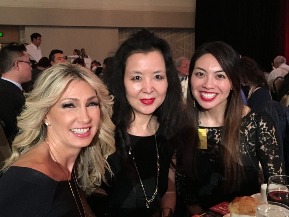 (From left): RSIR Owner & Vice President Stacy Jones, with Asia Services Group members Lili Shang & Tammie Chi