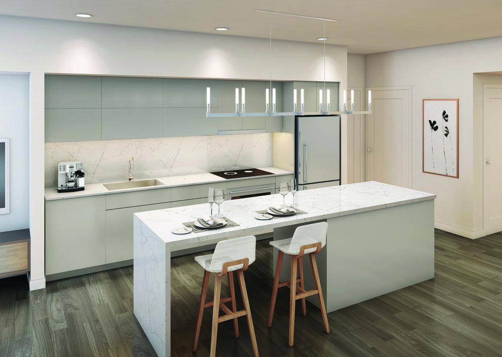 koda seattle condos kitchen layout