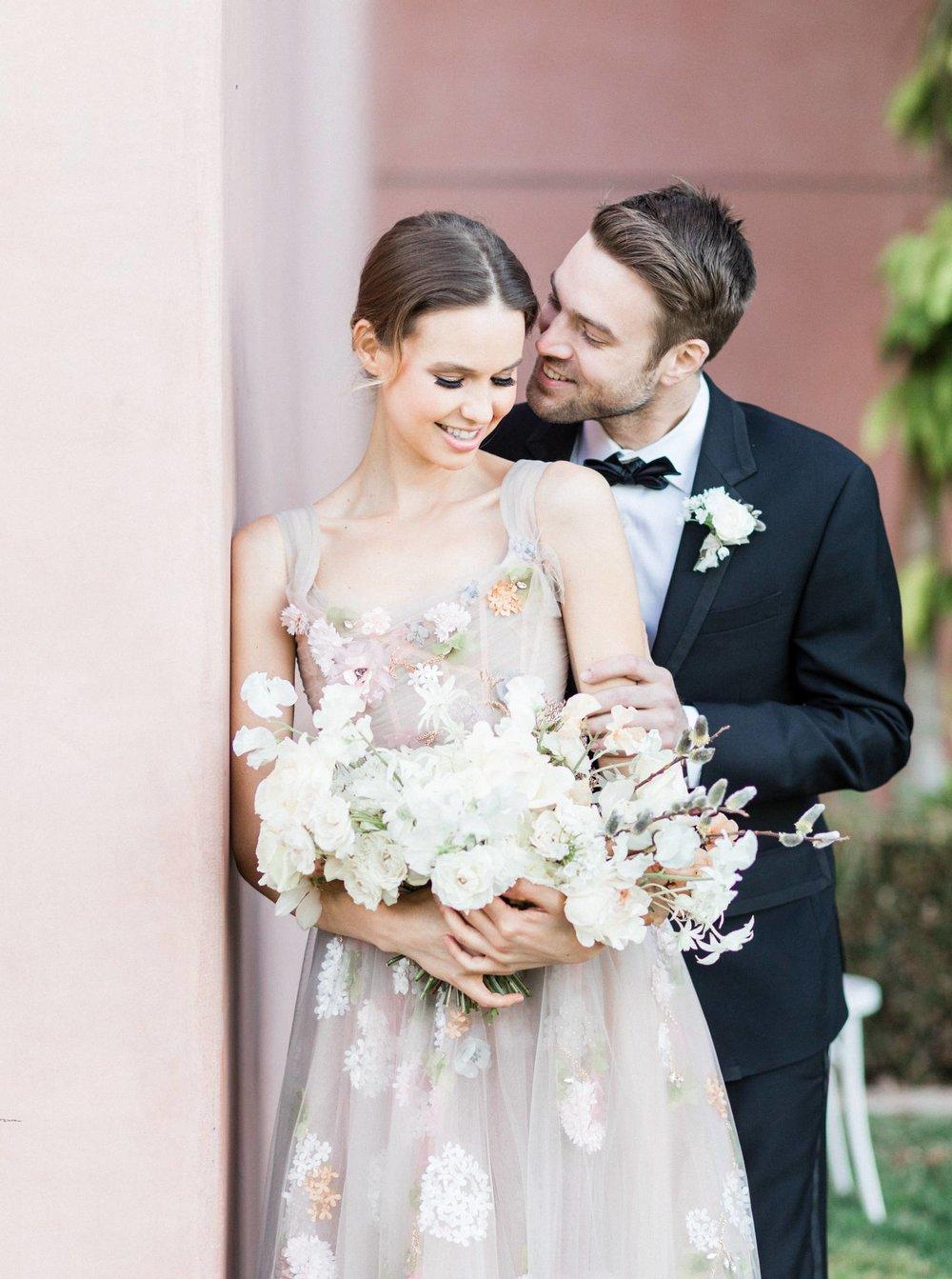 ivory bridal bouquet