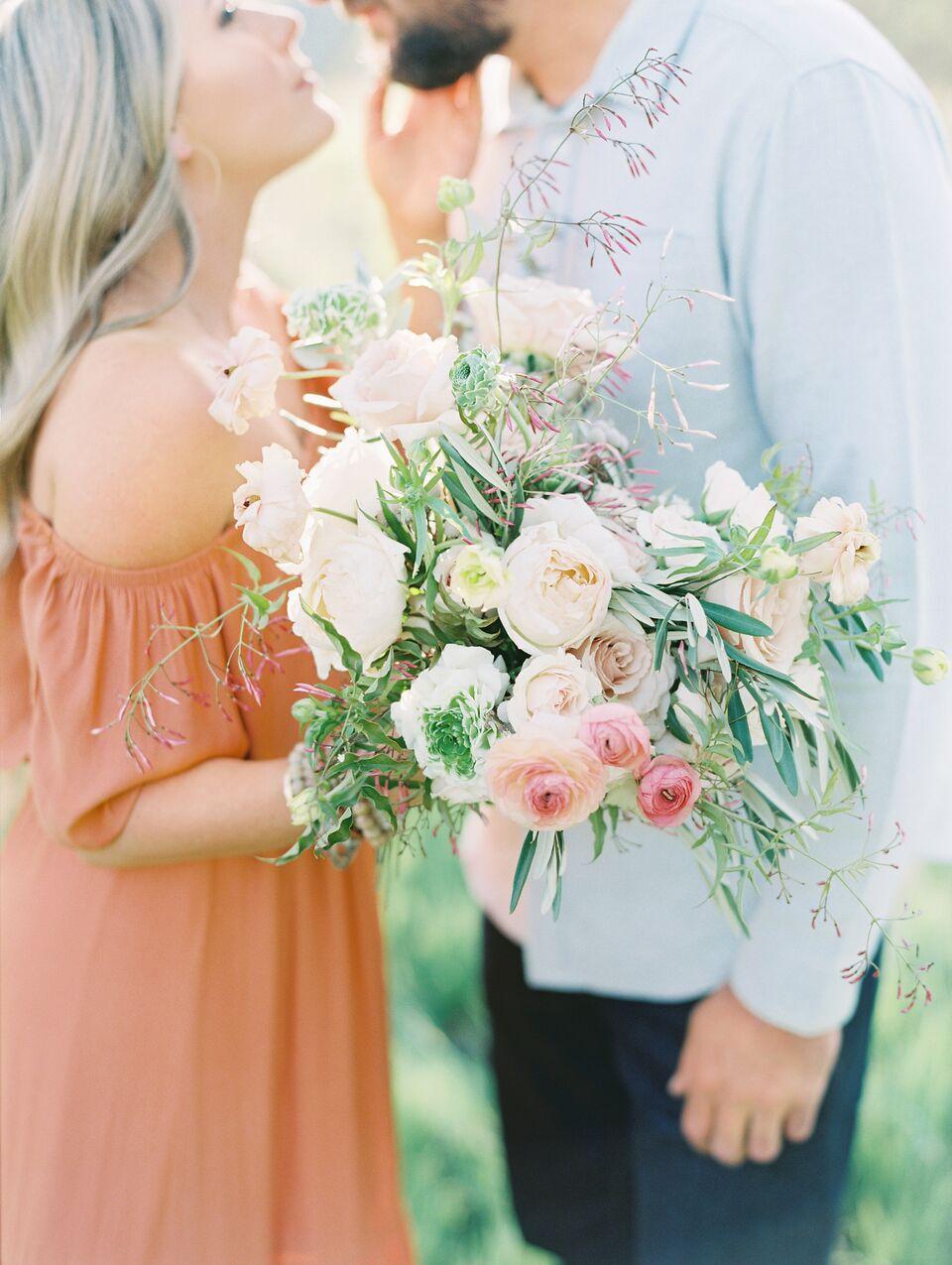 Engagement bouquet