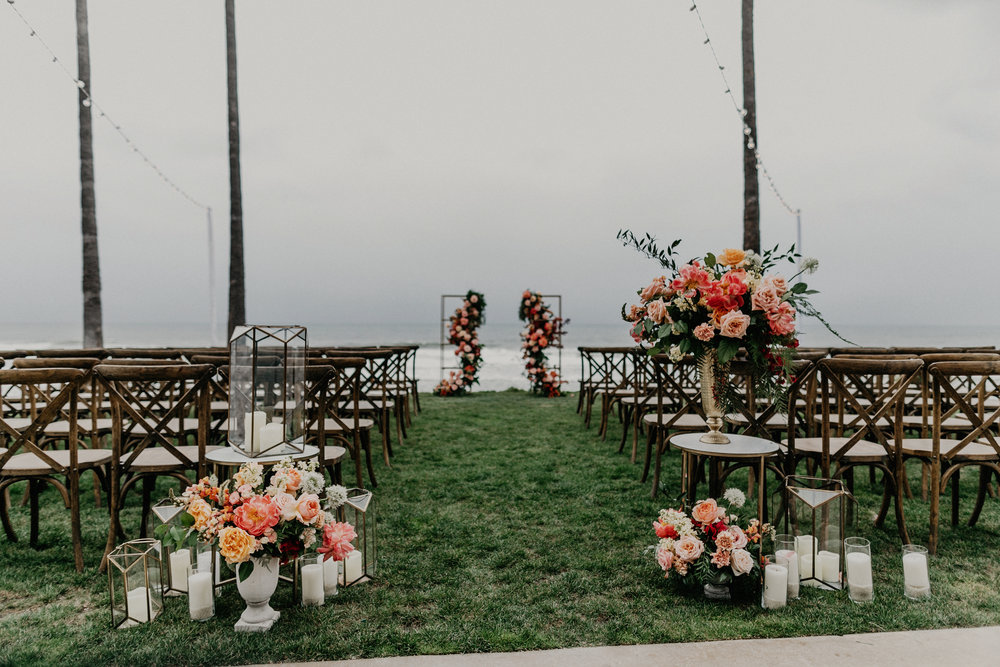 Wedding Ceremony Florals