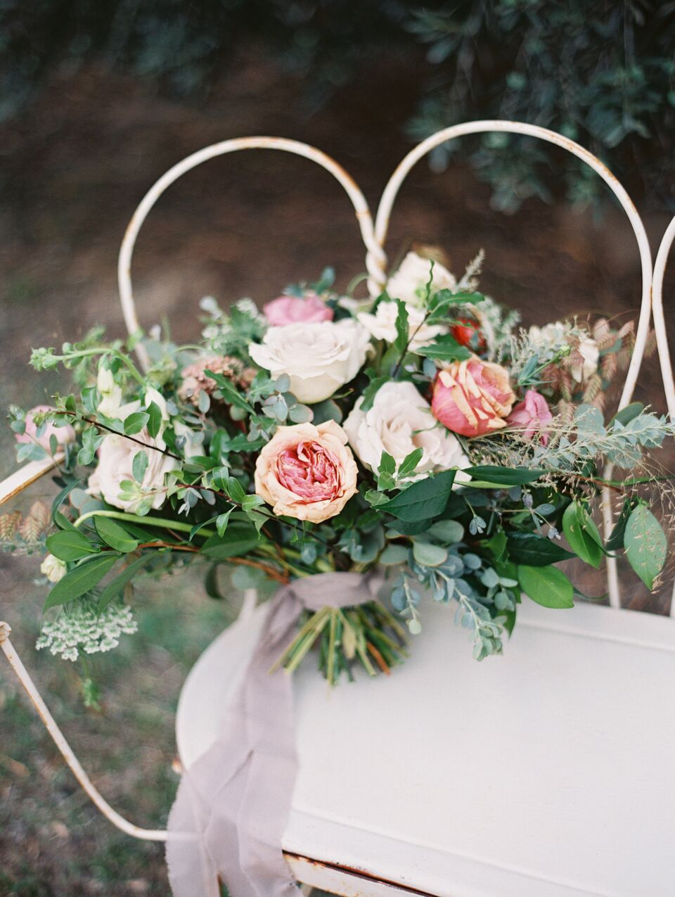 bouquet styling