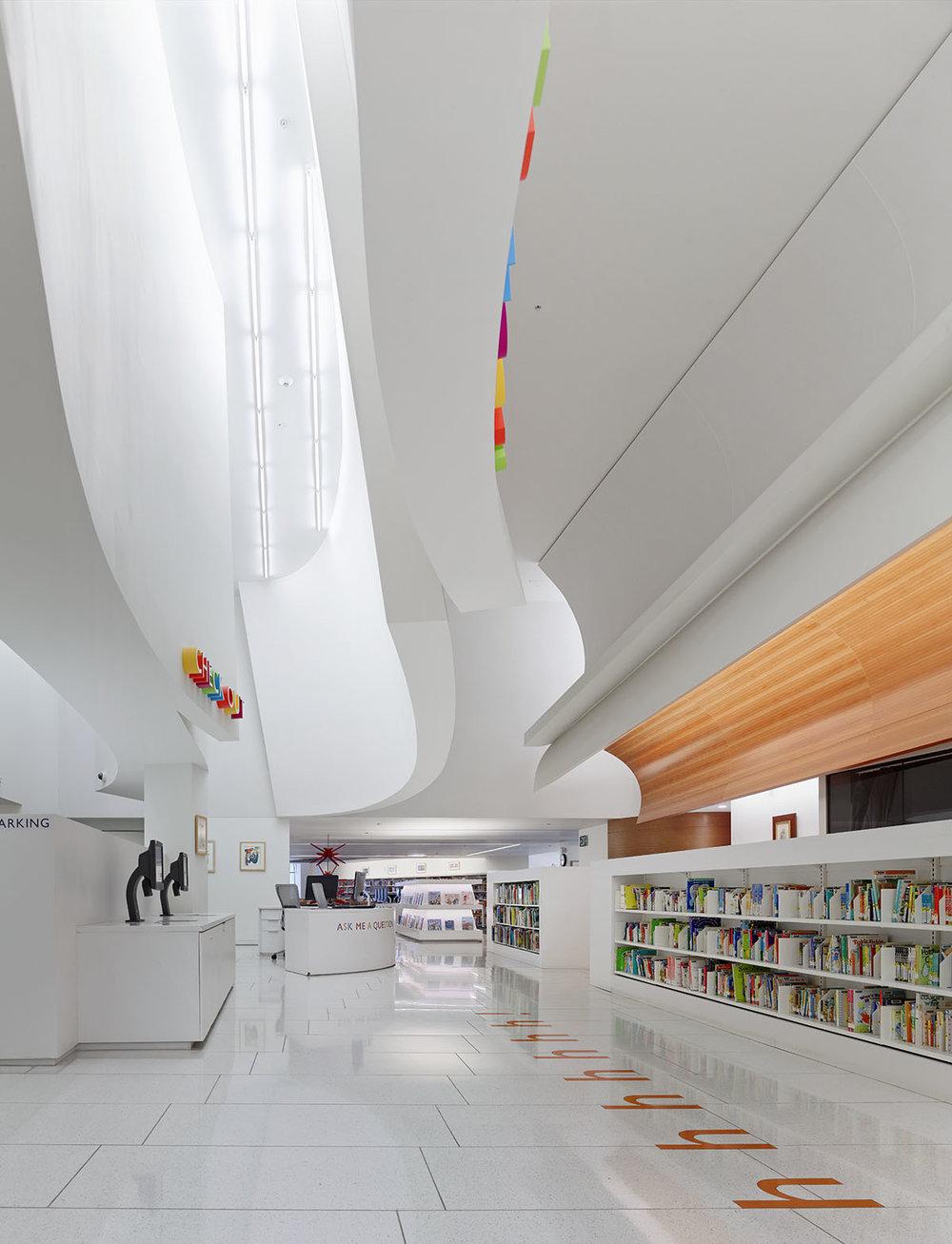 Central lobby area